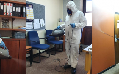 Cleaning team steps up for University deep clean